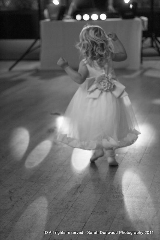 Dancing to her own tune