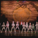 Performing at The Layard Theatre, choreographed by Sandra McAuliffe