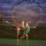 Tina Marsh & Christopher Linda in Aladdin, choreographed by Sandra McAuliffe