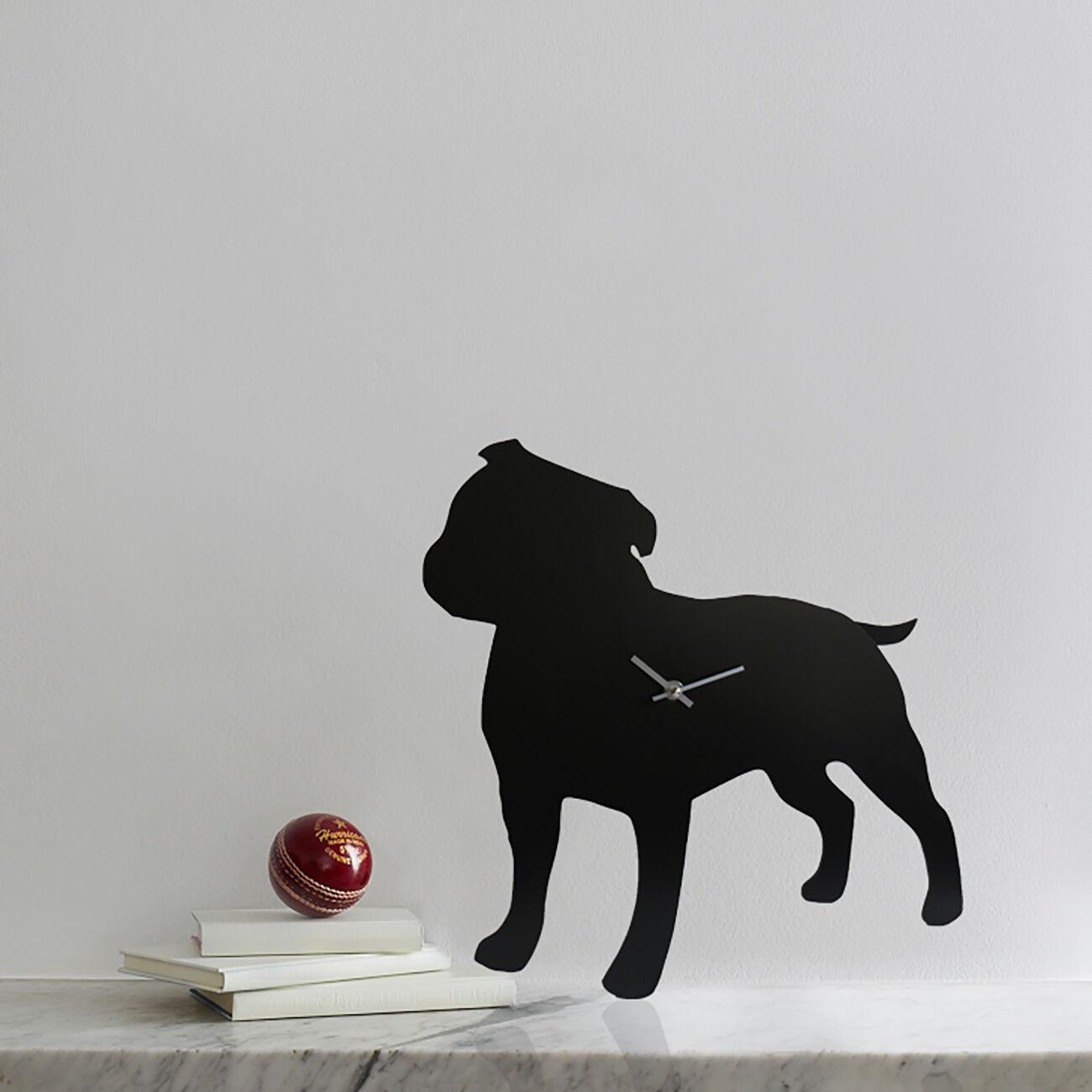 Staffie Clock