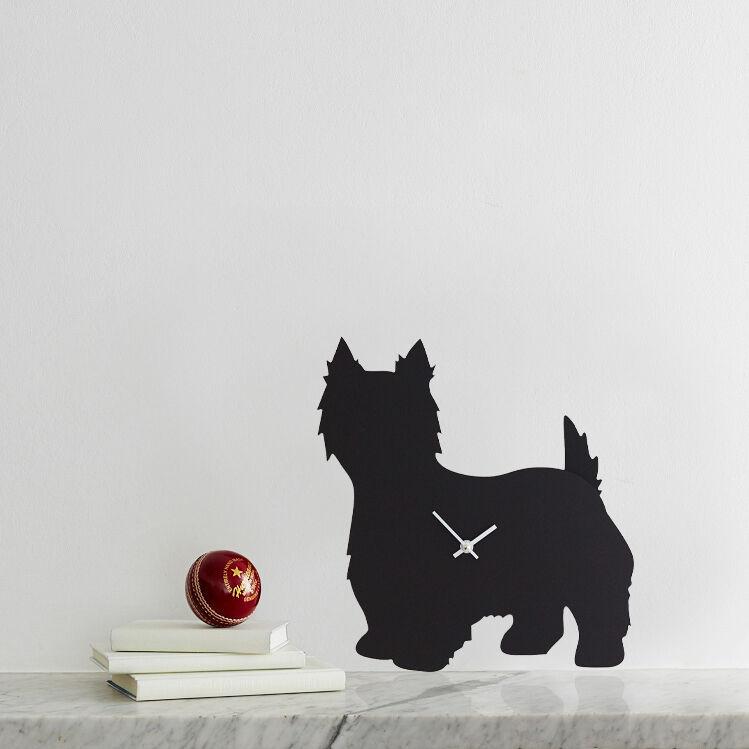 West Highland Terrier Clock