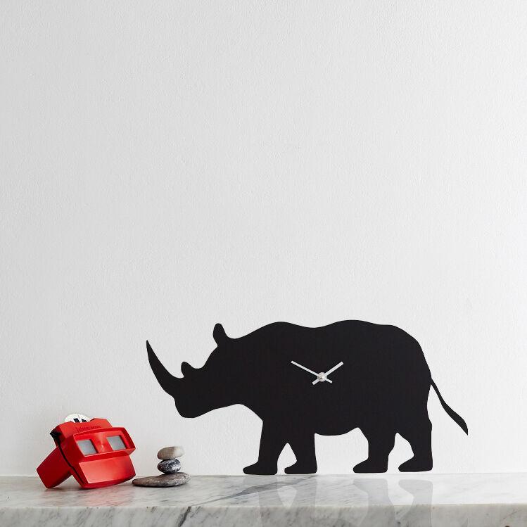 Rhinoceros Clock