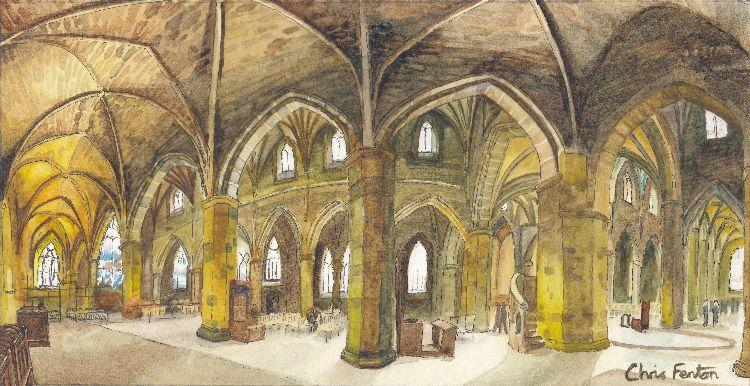 2016 - St Giles Interior