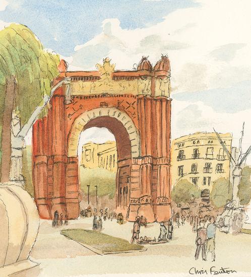 2018 - Barcelona - Arc de Triomf