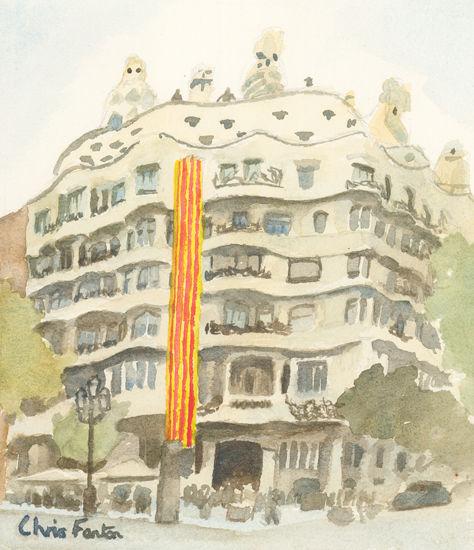 2018 - Barcelona - Casa Mila (La Pedrera)