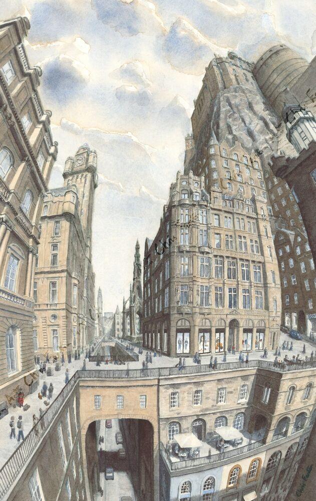 2020 - Edinburgh Castle Cityscape