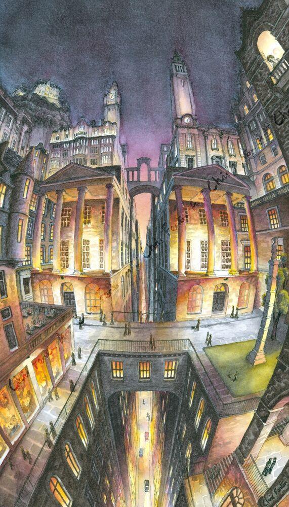 2021 - Edinburgh Cityscape - Night