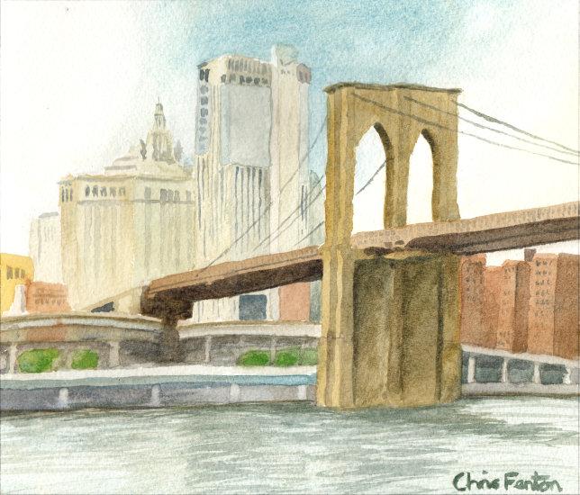 2016 - Brooklyn Bridge, New York