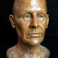 portrait sculpture Bernard