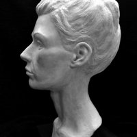 portrait sculpture Eva