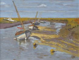 "Blakeney in September 10""x 8"" oil on board (SOLD)"