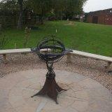 Armilliary sphere sundial