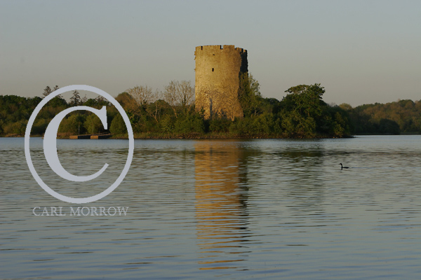 Clogh Oughter Castle, County Cavan, Ireland.