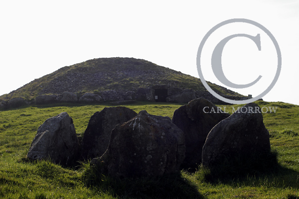 Loughcrew Neolithic cairn, County Meath, Ireland.