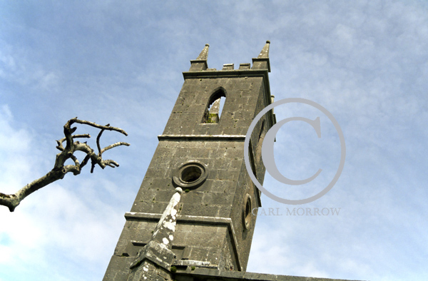 Church Belltower, Lough Key, County Roscommon, Ireland