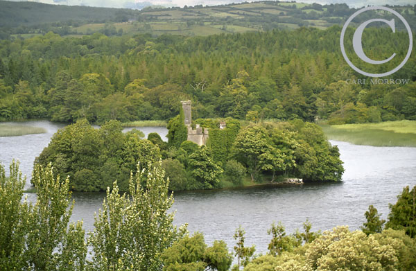 Castle Island, Lough Key Forest Park, Co. Roscommon, Ireland.