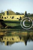 Drumlane Abbey Reflection, Milltown, County Cavan, Ireland.