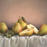 Study of Pears - Original Oil on Canvas - SOLD