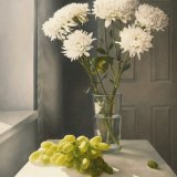 Chrysanthemums and Grapes - Open Edition Print