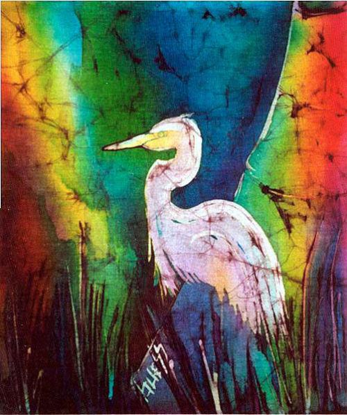 Colorful Egret