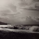 Breaking Waves - Selenium Toned