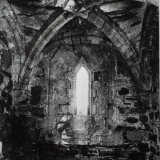 Window interior, Nunnery on Iona - Selenium Toned