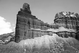 Layered rocks, Capitol Reef National Park