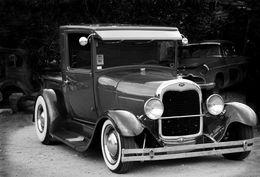 Re-built Ford Model A, Hackberry, AZ