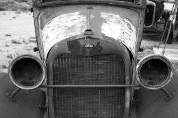 Ford Model A Truck, front, Truxton, AZ