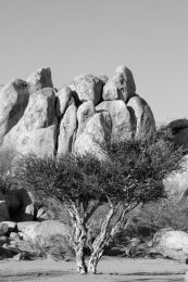 Granite formation (II), Grootberg mountain range
