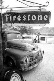 Tire shop, Hackberry, AZ