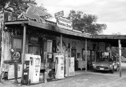 Gas Station (II), Hackberry, AZ