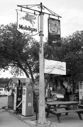 Greyhound bus station, Hackberry, AZ