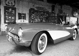 American dream, 1957 Chevrolet Corvette, Hackberry, AZ