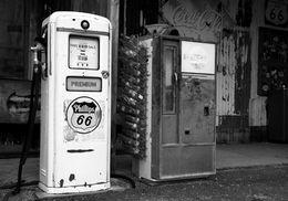 Gasoline station, Hackberry, AZ