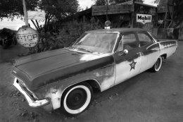 1965 Chevrolet Biscayne, Police car, Hackberry, AZ