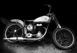 BSA motor cycle, Seligman, AZ