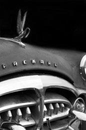Packard Clipper, detail, Seligman, AZ