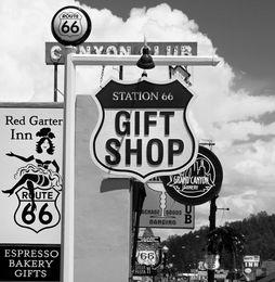 Shop signs, Williams, AZ