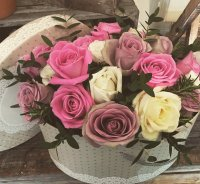 Pretty rose box (medium)