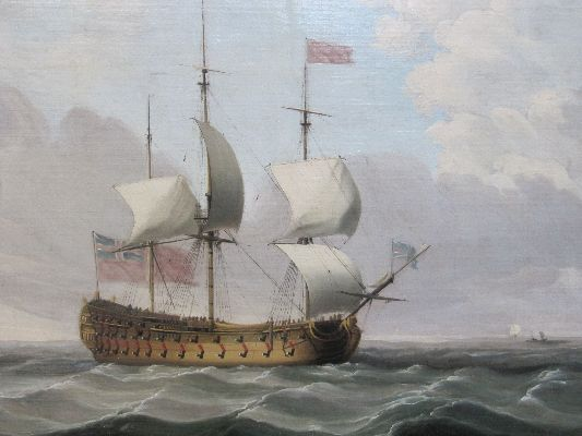 Charles Brooking after cleaning detail