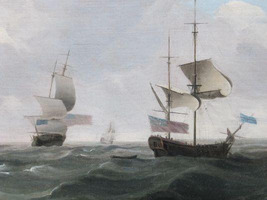 Charles Brooking after restoration detail