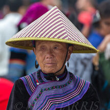 Flower Hmong - Conical Hat