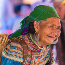 Flower Hmong - Old Lady