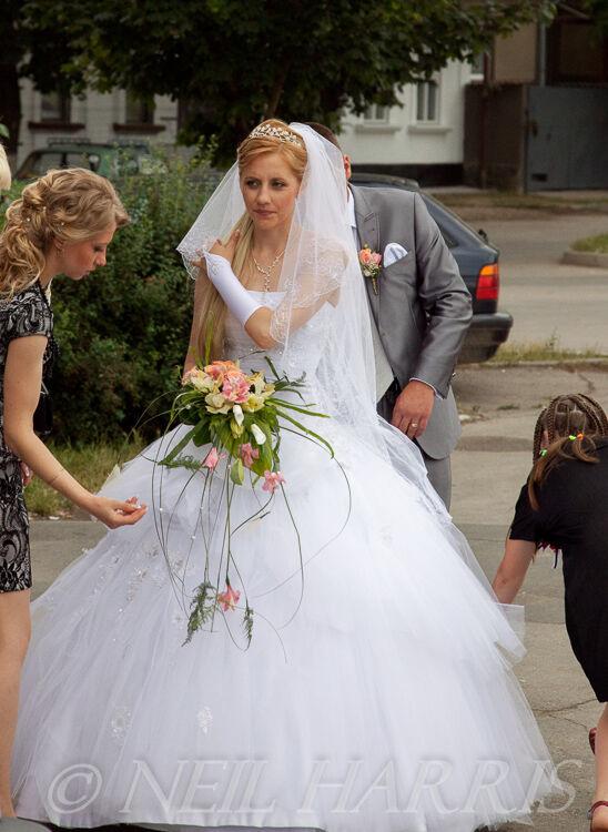 Wedding dressed