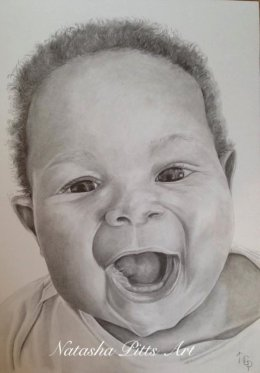 Graphite Pencil Portrait