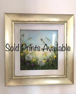 """Dancing Dandelions"" Original SOLD Prints available via my Etsy store"
