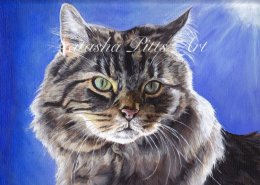Acrylic painting