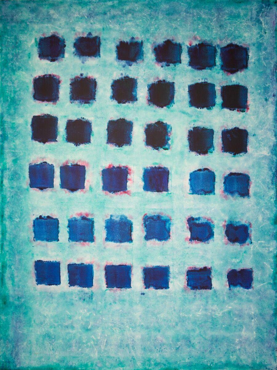 Blue Squares on Blue 1