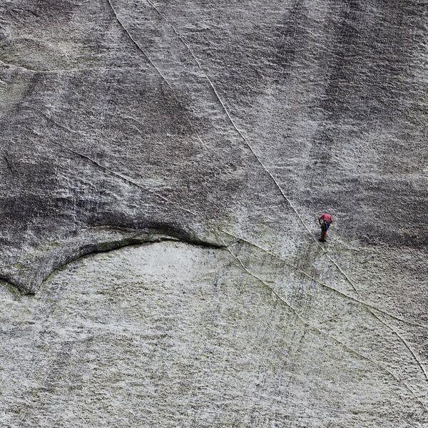 Climbing Half Dome, Yosemite National Park